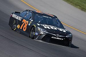 NASCAR Sprint Cup Practice report Truex tops opening Cup practice at Michigan