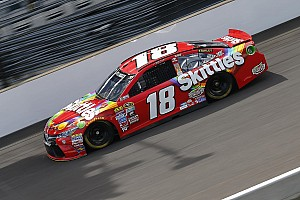 NASCAR Sprint Cup Practice report Kyle Busch leads final practice at Indianapolis