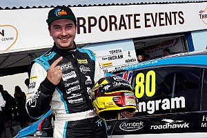 BTCC Breaking news Ingram to stay with Speedworks in 2017