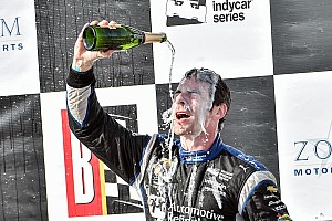 IndyCar Breaking news Pagenaud: Beating Rahal was about being aggressive