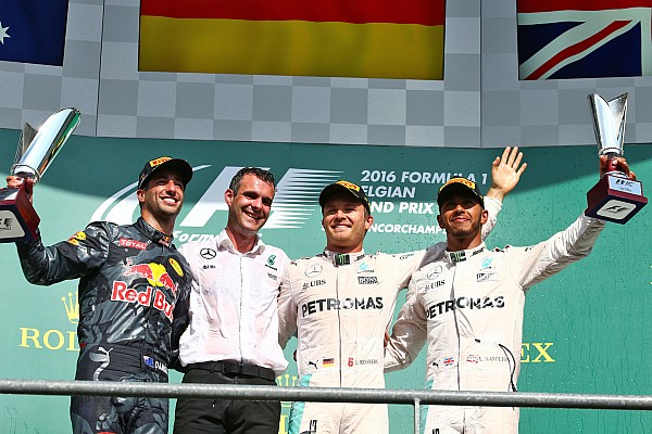 Formula 1 Race report Belgian GP: Rosberg dominates action-packed Spa race