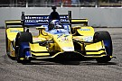 Andretti puzzled by tire behavior at St. Pete