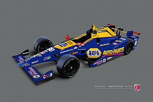 IndyCar Breaking news Rossi picks up NAPA as a primary sponsor for the Indy 500