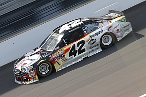NASCAR Sprint Cup Breaking news Larson says fifth-place finish is