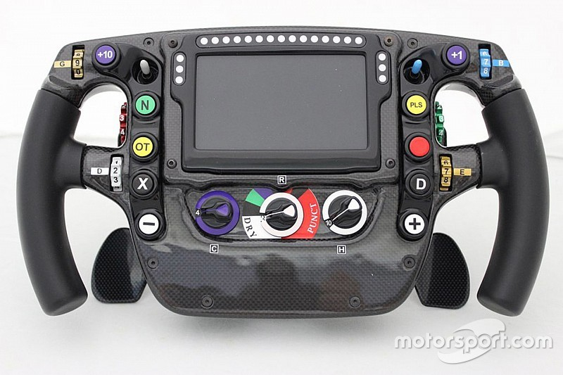 Technical analysis: McLaren's F1 steering wheel