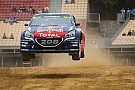 World Rallycross Spain WRX: Hansen maintains lead as qualifying ends