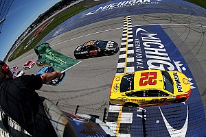 NASCAR Sprint Cup Breaking news Michigan track surface receiving extra prep work before next NASCAR race