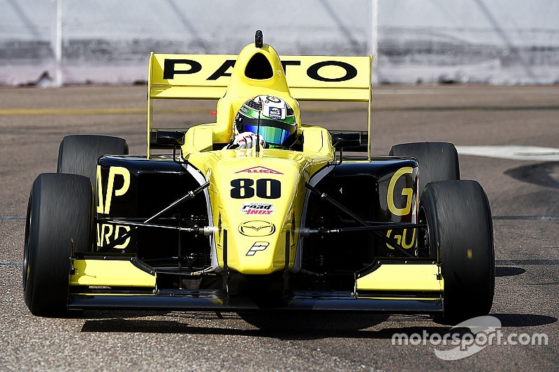 O'Ward leads Pelfrey domination in Pro Mazda opener