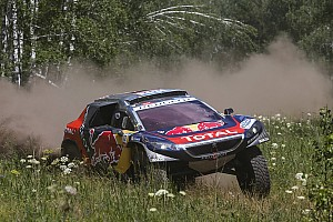 Cross-Country Rally Stage report Silk Way Rally – Leg 8 : Top stage times for all three Peugeot 2008 DKRs