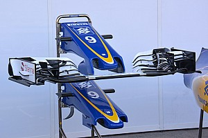 Bite-size tech: Sauber C35 front wing and nose