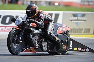 NHRA Interview Hines gunning for sixth Pro Stock Motorcycle title