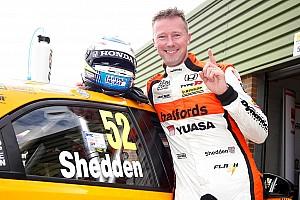 BTCC Race report Snetterton BTCC: Shedden takes last lap win in restarted race