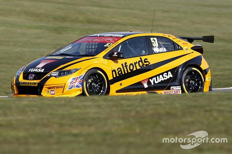 Honda BTCC team splits with Neate