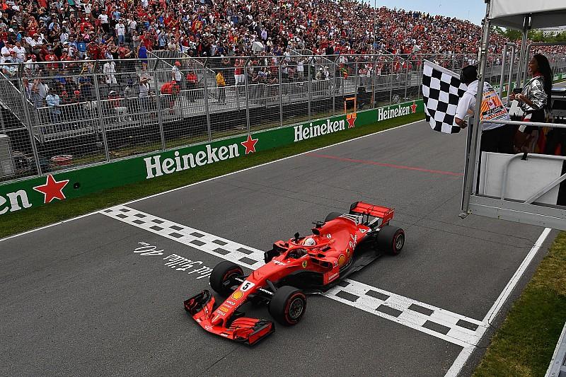 Formula 1 Canada, la gaffe della bandiera a scacchi: cosa è successo?