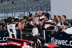LMP1 Race winners #6 Toyota Racing Toyota TS050 Hybrid: Stéphane Sarrazin, Mike Conway, Kamui Kobayashi