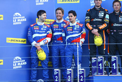 #32 SMP Racing BR 01 Nissan: Stefano Coletti, Julian Leal, Andreas Wirth second place