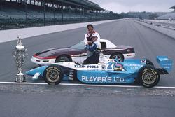 Jacques Villeneuve with Tony George