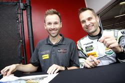 #44 Magnus Racing Audi R8 LMS: René Rast, Marco Seefried