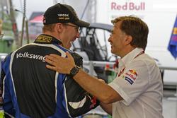 Jari-Matti Latvala, Volkswagen Polo WRC, Volkswagen Motorsport and Jost Capito, Volkswagen Motorsport Director