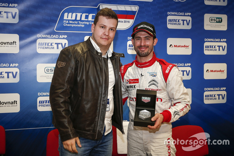 José María López, Citroën World Touring Car Team with  Martin Demko, Tag Heuer