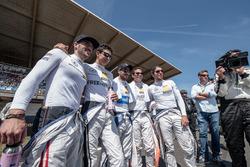 Maximilian Götz, Mercedes-AMG Team HWA, Mercedes-AMG C63 DTM, Esteban Ocon (FRA) Mercedes-AMG Team ART, Mercedes-AMG C 63 DTM, Gary Paffett, Mercedes-AMG Team ART, Mercedes-AMG C63 DTM, Robert Wickens, Mercedes-AMG Team HWA, Mercedes-AMG C63 DTM, Daniel Juncadella, Mercedes-AMG Team HWA, Mercedes-AMG C63 DTM