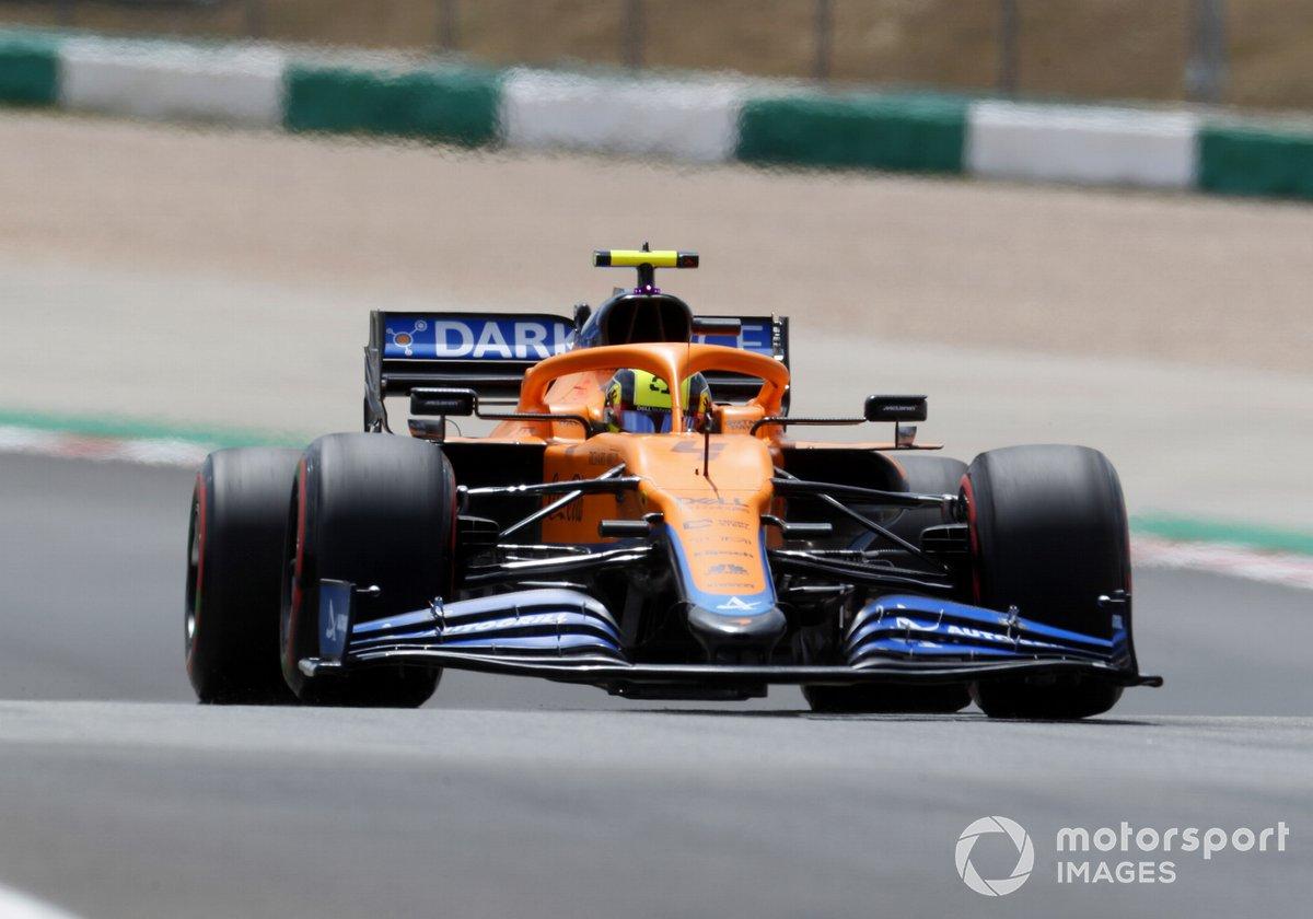 P7 Lando Norris, McLaren MCL35M