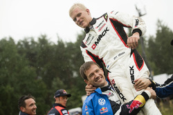 Ott Tanak, DMACK World Rally Team with Sébastien Ogier, Volkswagen Polo WRC, Volkswagen Motorsport