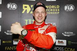 Race winner Kevin Eriksson, Olsbergs MSE