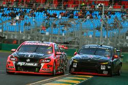 Garth Tander, Holden Racing Team and Scott Pye, Team Penske Ford
