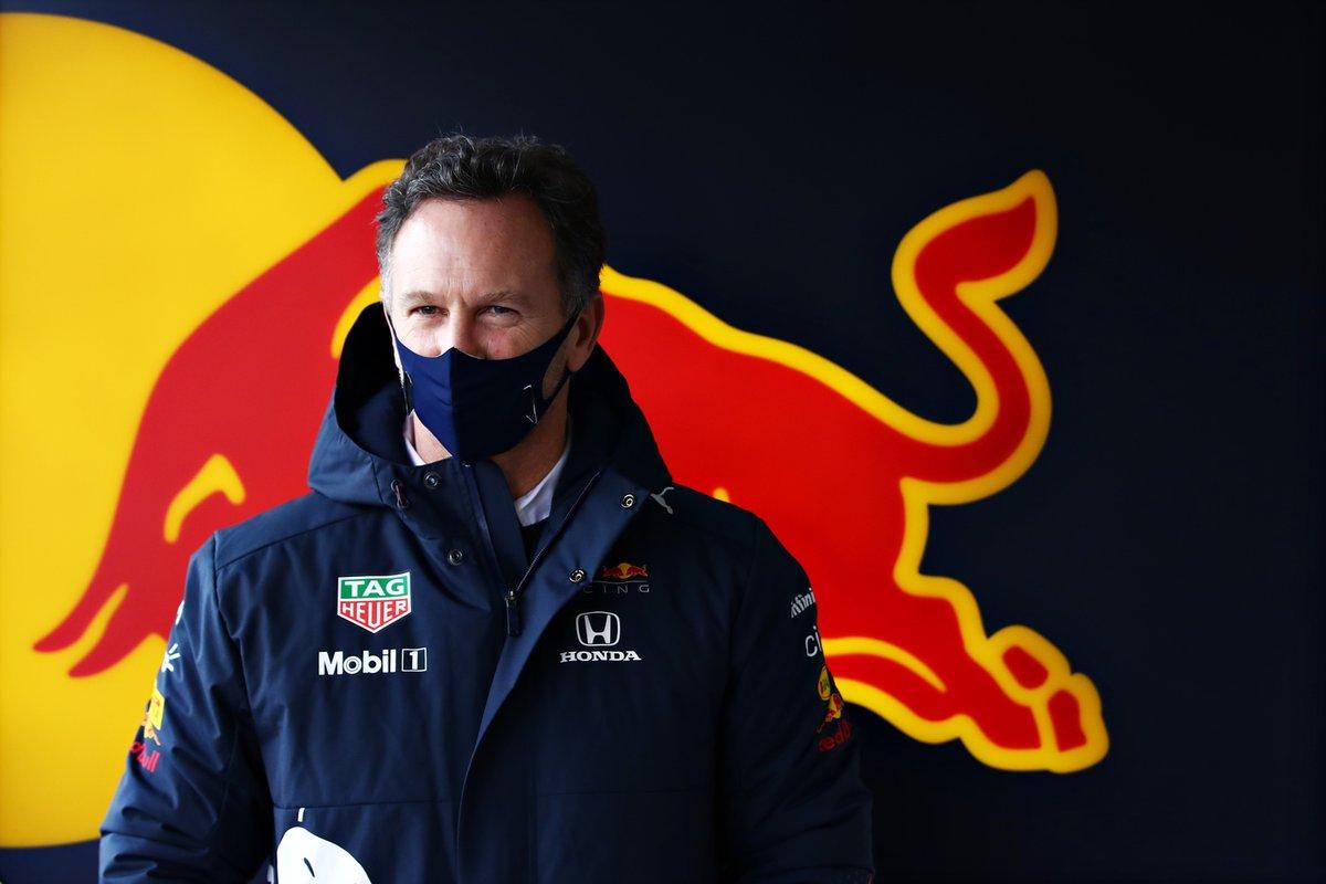 Red Bull Racing Team Principal Christian Horner