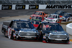 Ben Rhodes, ThorSport Racing Toyota, Kyle Busch, Kyle Busch Motorsports Toyota