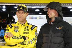 Matt Kenseth, Joe Gibbs Racing Toyota, Denny Hamlin, Joe Gibbs Racing Toyota