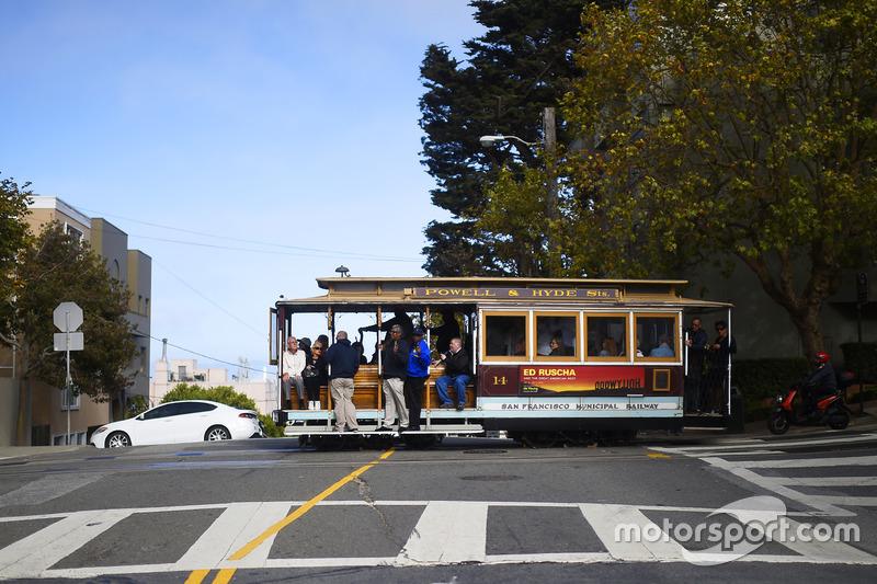 A San Francisco Trolley At Sonoma