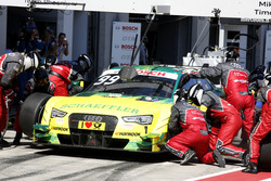 Pit stop Mike Rockenfeller, Audi Sport Team Phoenix, Audi RS 5 DTM
