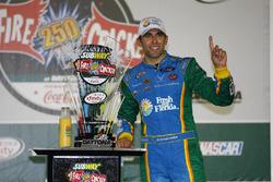 Race winner Aric Almirola, Ford