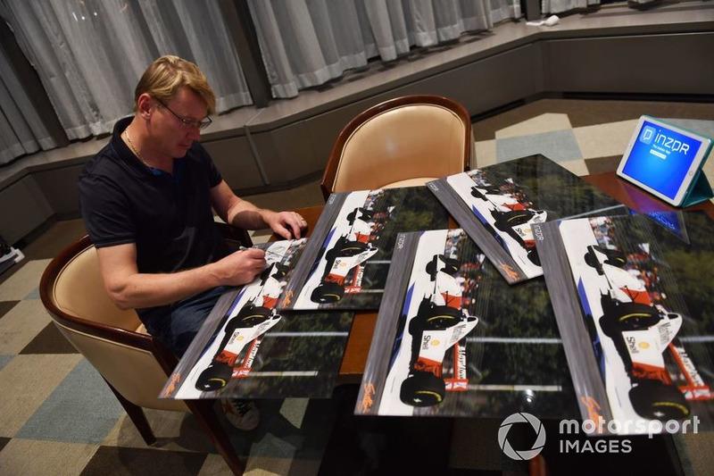 Häkkinen correrá las 10 Horas de Suzuka con McLaren