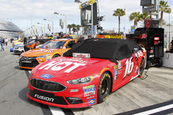 The car of Greg Biffle, Roush Fenway Racing Ford