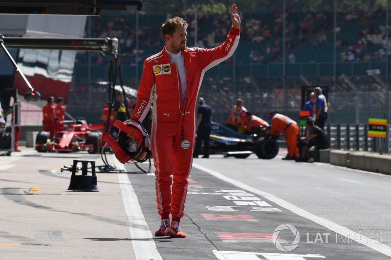 Sebastian Vettel se llevó el GP de Gran Bretaña