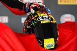 Karel Abraham's helmet, Milwaukee BMW