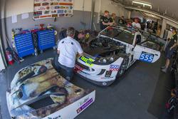 #555 Team Africa Le Mans Ginetta G55 GT4