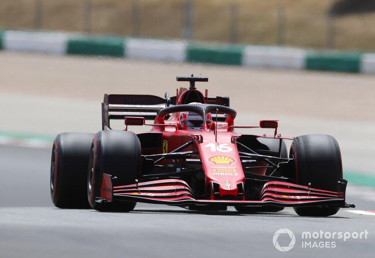 P8 Charles Leclerc, Ferrari SF21