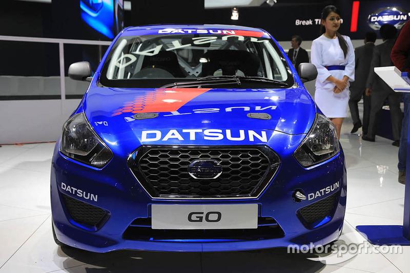 Datsun GO Rally at Delhi Auto Expo - Automotive Photos