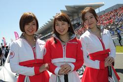 Lovely Fuji Speedway grid girls