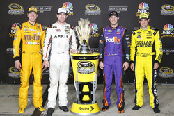 Joe Gibbs Racing Chase drivers: Kyle Busch, Carl Edwards, Denny Hamlin, Matt Kenseth