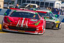#63 Scuderia Corsa Ferrari 458 Italia: Christina Nielsen, Alessandro Balzan, Robert Renauer, Jeff Segal