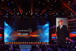 Niki Lauda, Mercedes Non-Executive Chairman winner of the Laureus Lifetime Achievement Award