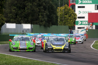 Carrera Cup Italia Foto - Mattia Drudi, Dinamic Motorsport - Modena e Gianluca Giraudi, Ebimotors