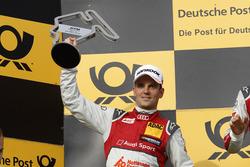 Podium: second place Jamie Green Audi Sport Team Rosberg, Audi RS 5 DTM