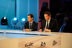 ACO president Pierre Fillon, WEC CEO Gérard Neveu