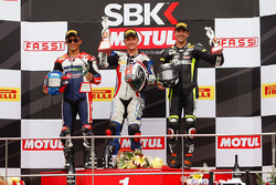 Podium: winner Ayrton Badovini, second place Zulfahmi Khairuddin, third place Gino Rea